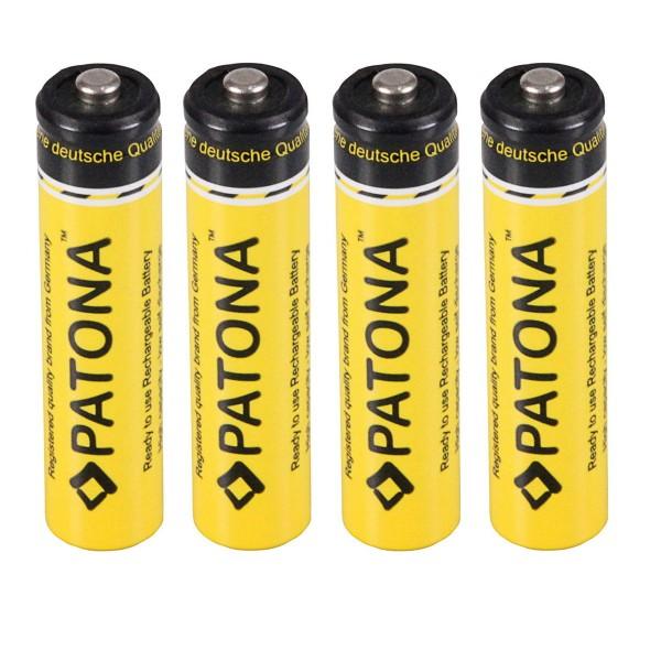 4x batteri til Siemens Gigaset C430A