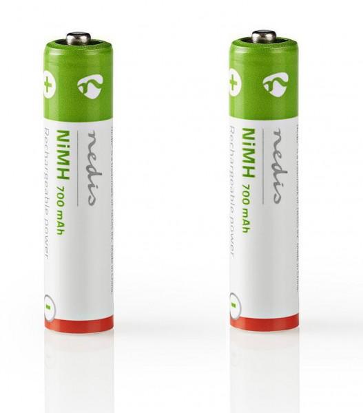 2x telefonbatteri f. T-Com  Sinus 206